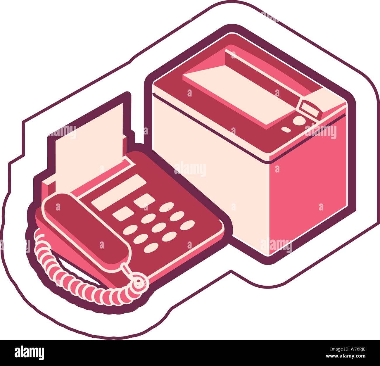 fax vector vectors high resolution stock photography and images alamy alamy