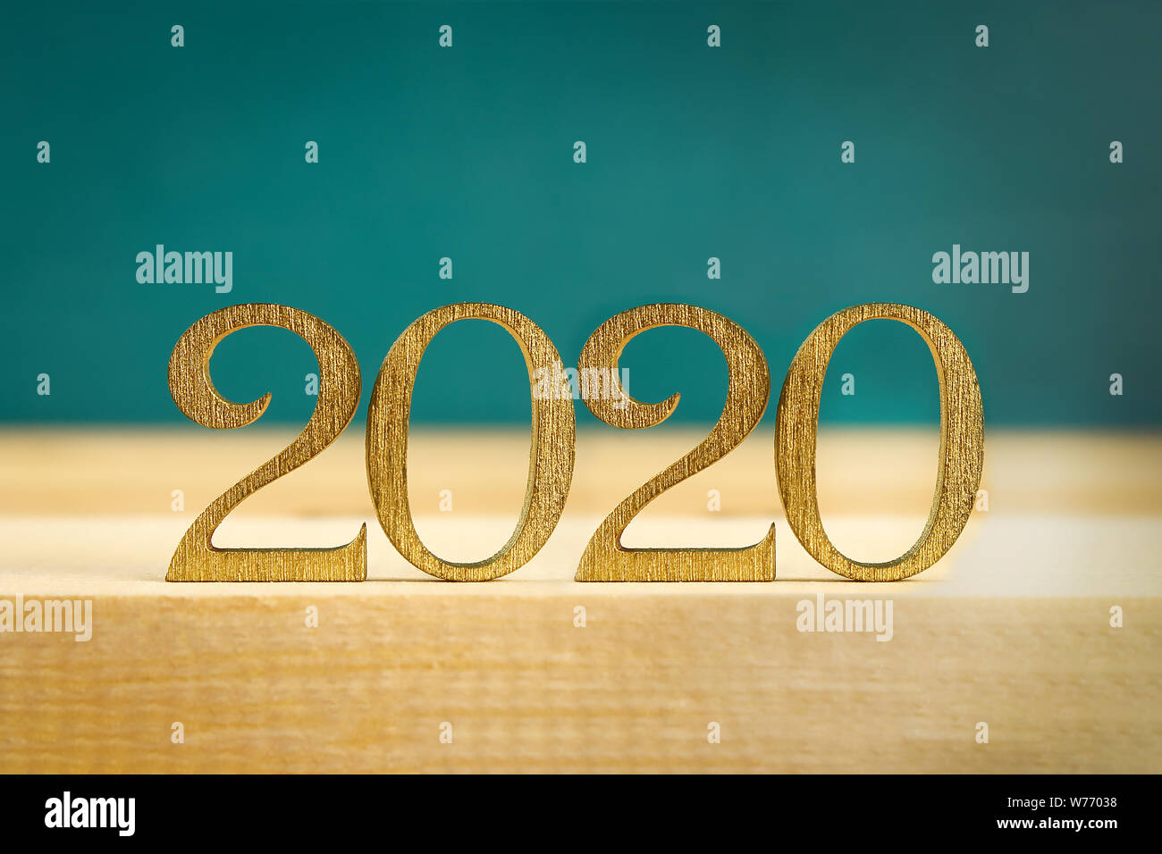 Merry Christmas And Happy New Year 2020 Writing Happy New Year 2020. Creative text Happy New Year 2020 written in