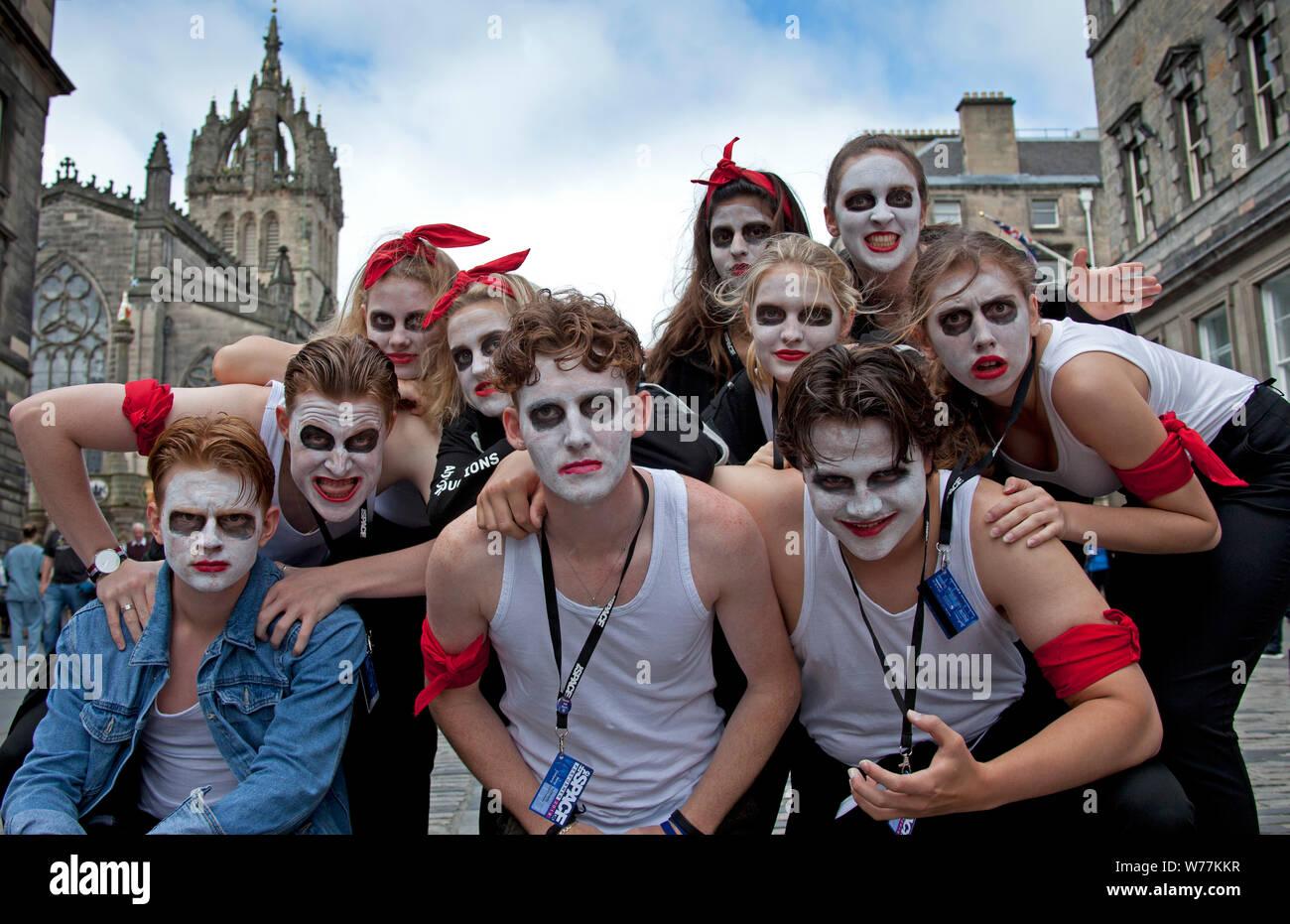 Edinburgh Festival Fringe, Royal Mile, Scotland, UK  5th