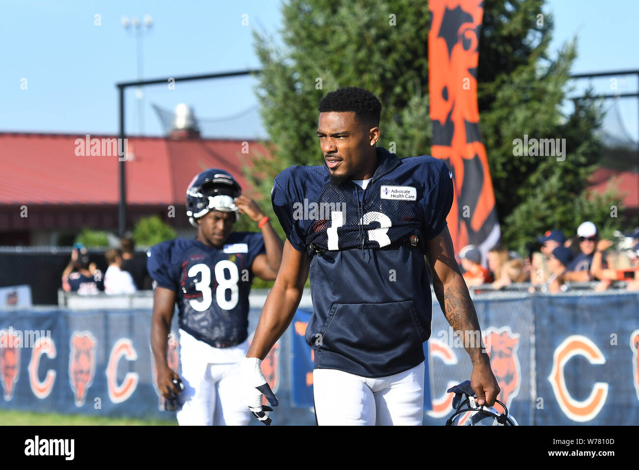 competitive price f2d14 c9446 August 05, 2019:Marvin Hall (13) of the Chicago Bears in ...