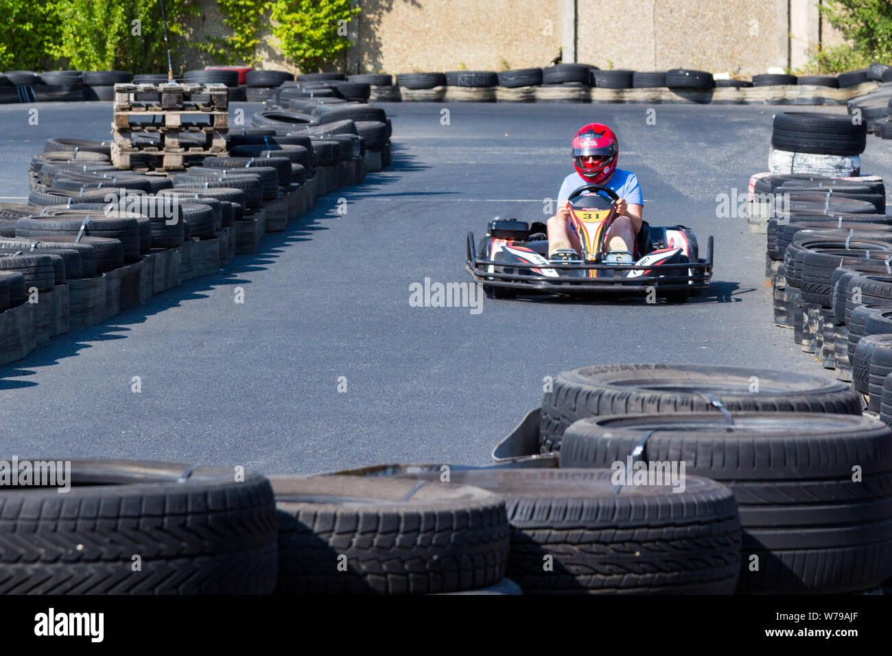 Young Racing Driver Stock Photos & Young Racing Driver Stock