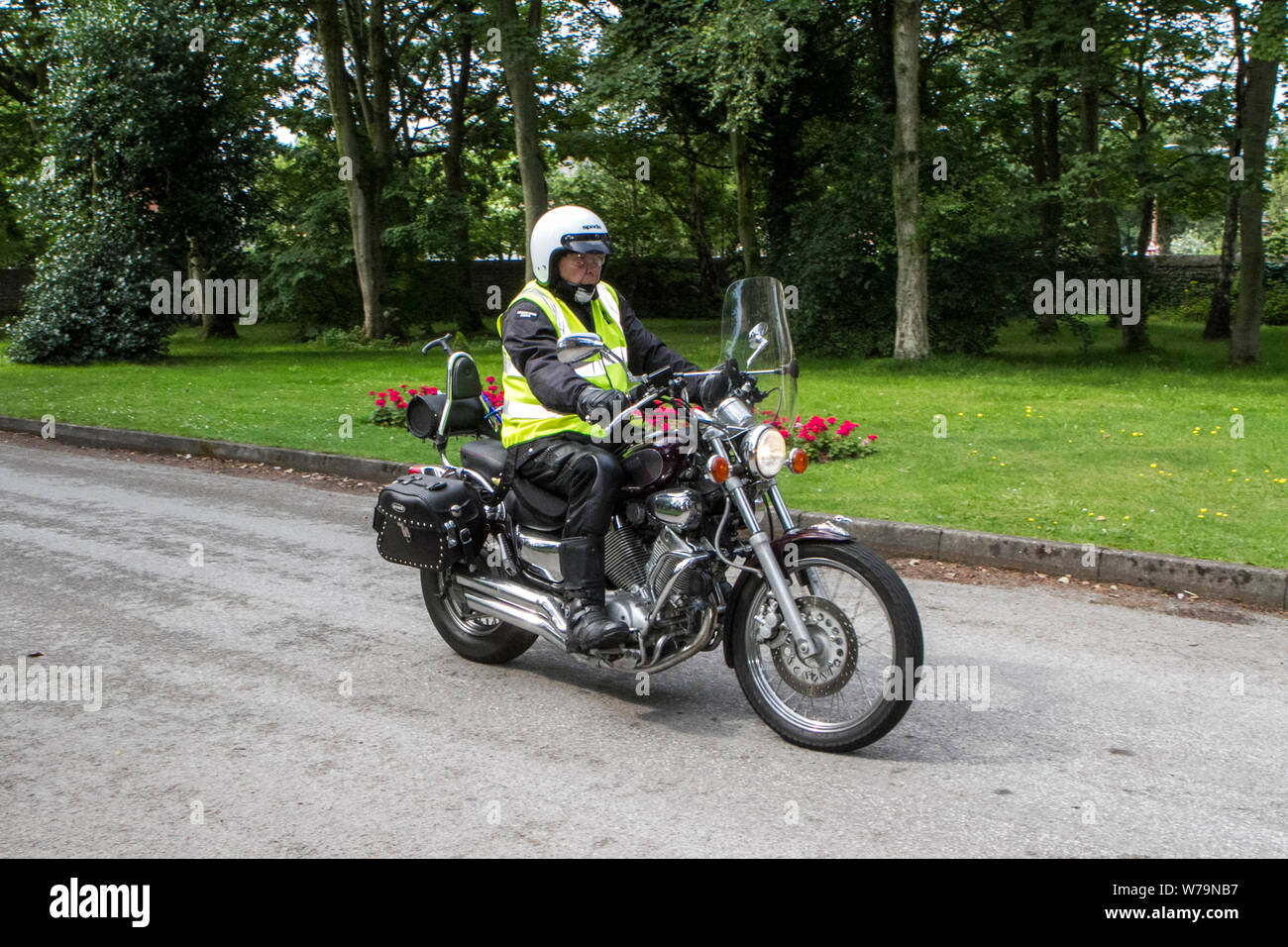 Yamaha Motorbike Show Stock Photos & Yamaha Motorbike Show