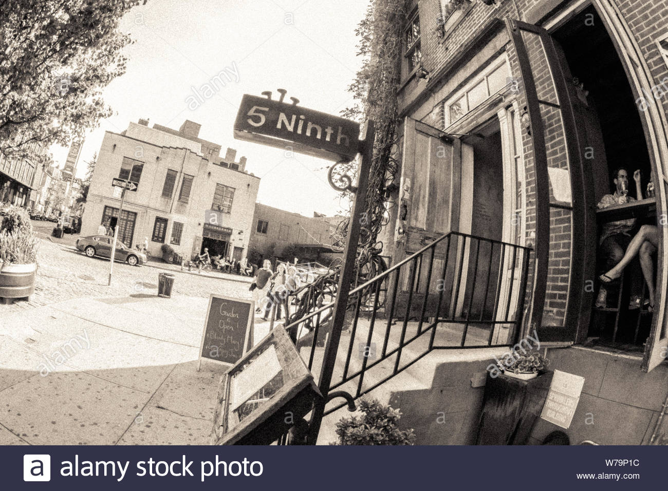 New York, United States - April 21, 2012 : The hood of north