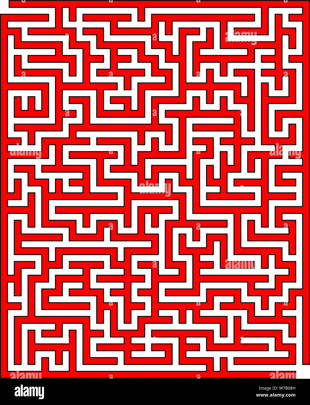 Labyrinth Template Stock Photos & Labyrinth Template Stock