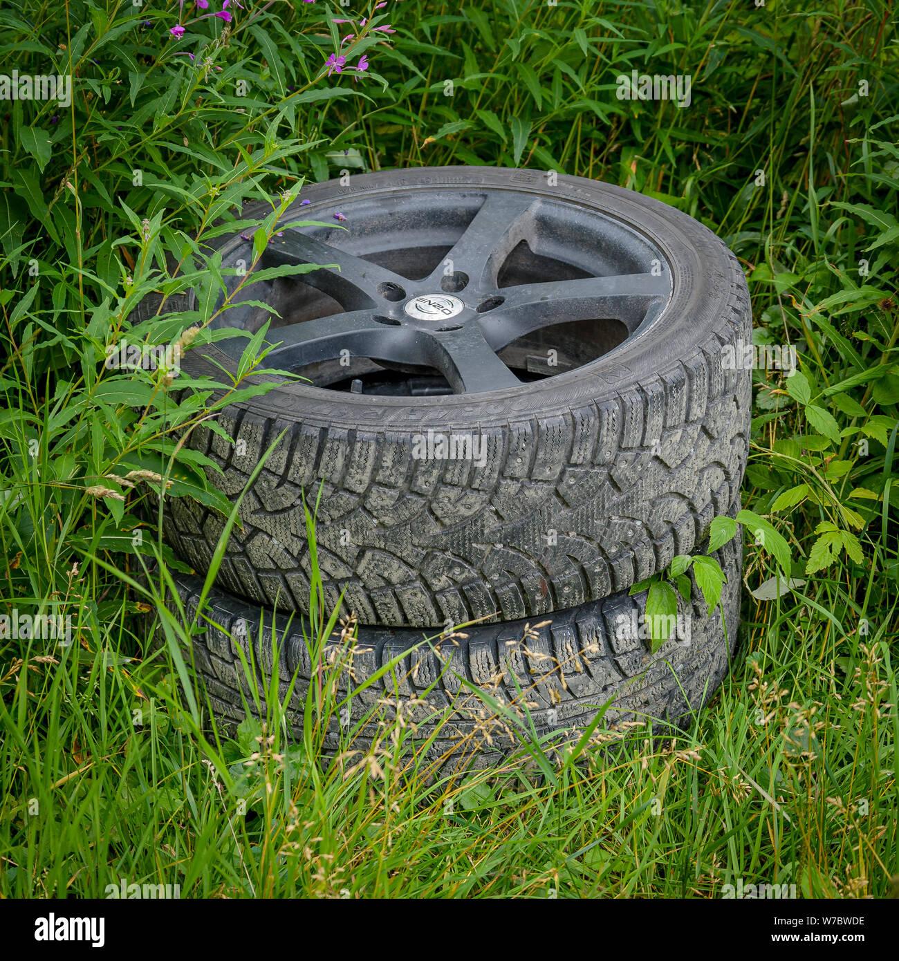 Alloy Wheels Stock Photos & Alloy Wheels Stock Images - Alamy