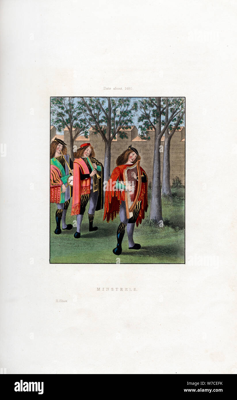 Minstrel Middle Ages High Resolution Stock Photography And Images Alamy