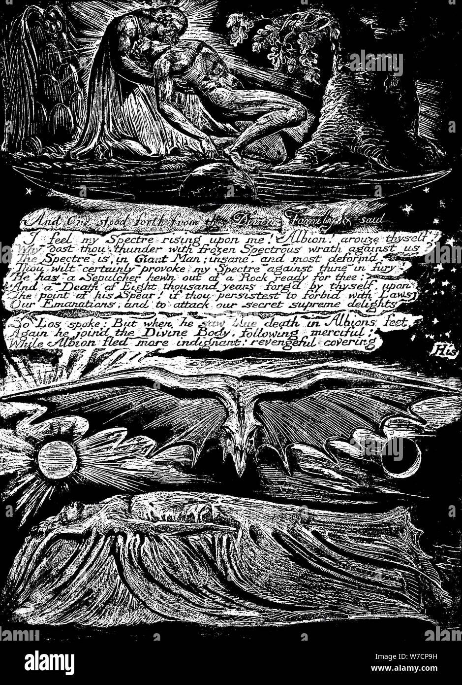 William Blake 1757 1827 English Mystic Poet Painter And