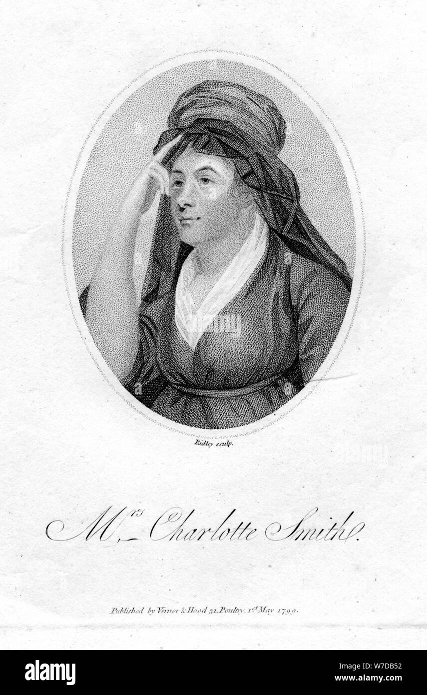 Charlotte Turner Smith william wordsworth
