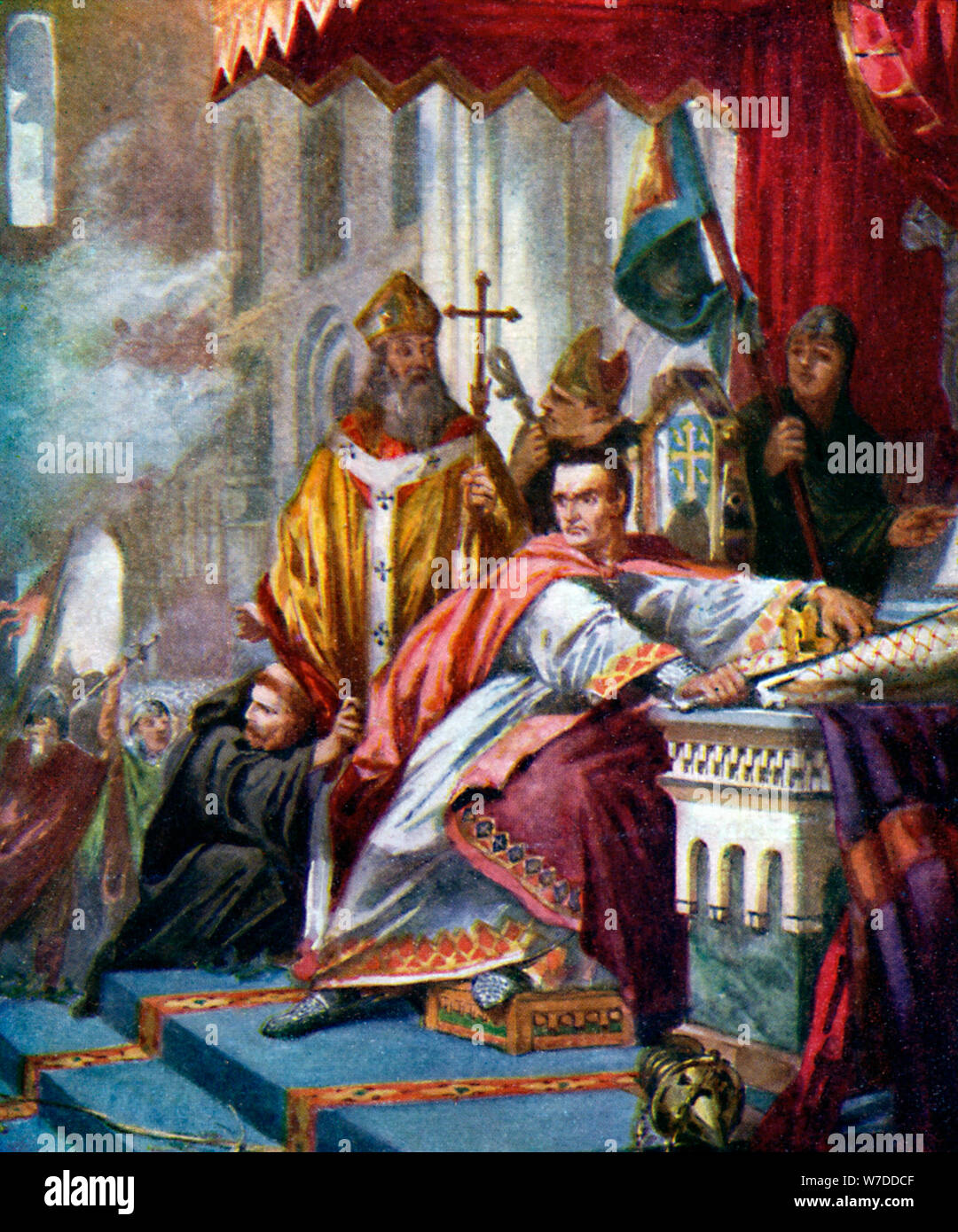 'Coronation of William the Conqueror', 1925. Artist: Unknown Stock Photo