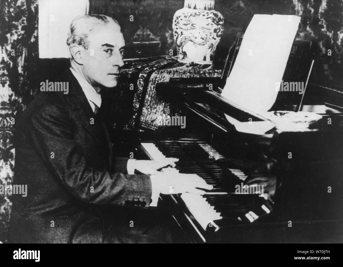 Maurice Ravel (1875-1937), French composer and pianist