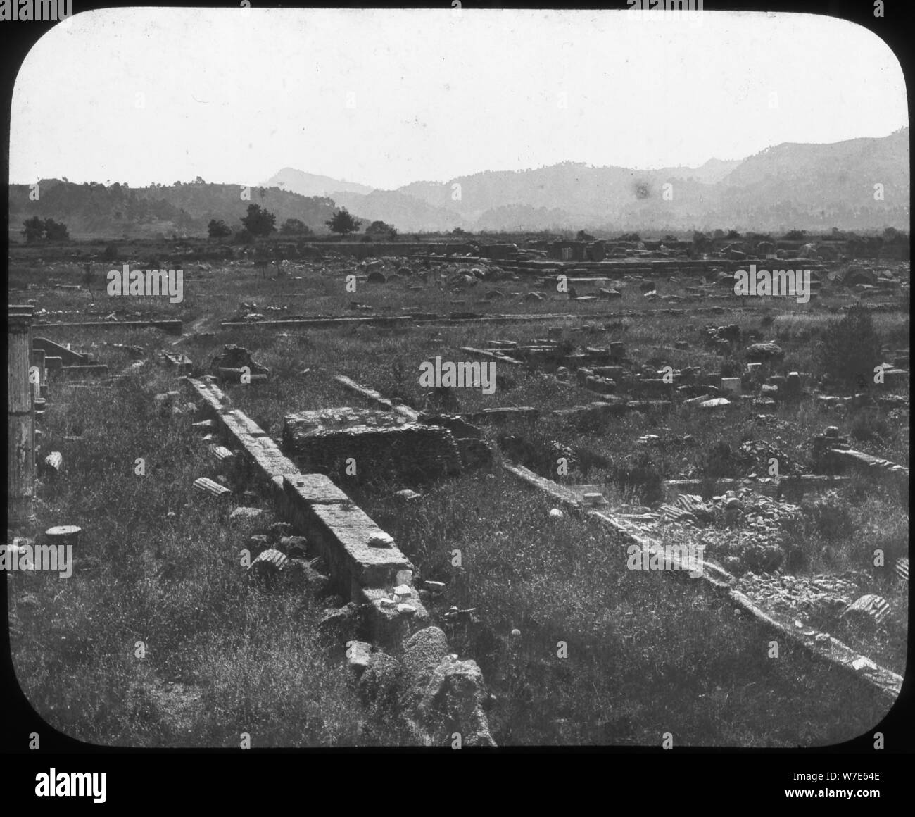 Olympia, Greece, late 19th or early 20th century. Artist: Unknown Stock Photo