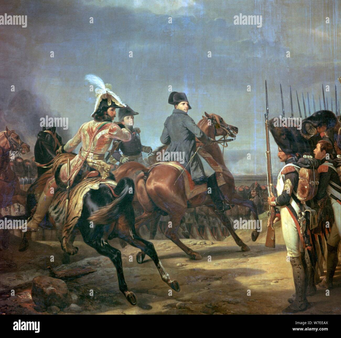 Napoleon Painting Horse High Resolution Stock Photography And Images Alamy