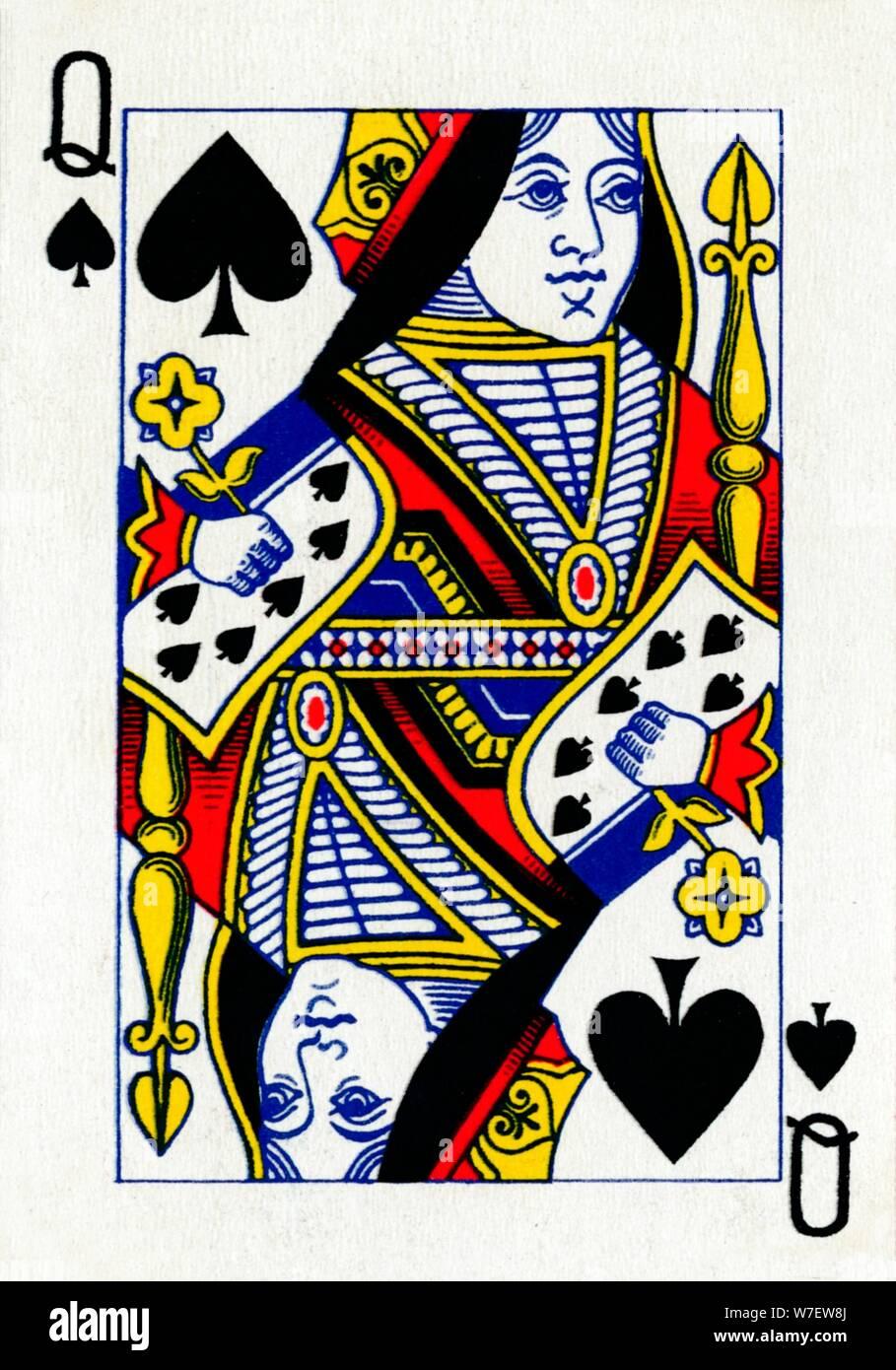 Spades queen dating of Queen Of