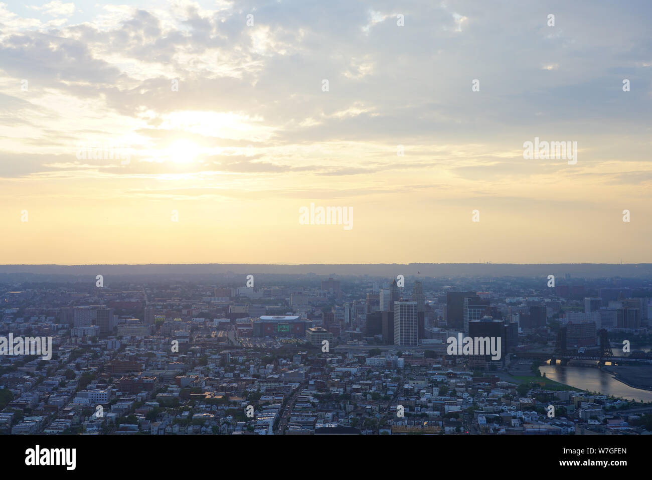 Newark Nj Skyline Stock Photos & Newark Nj Skyline Stock