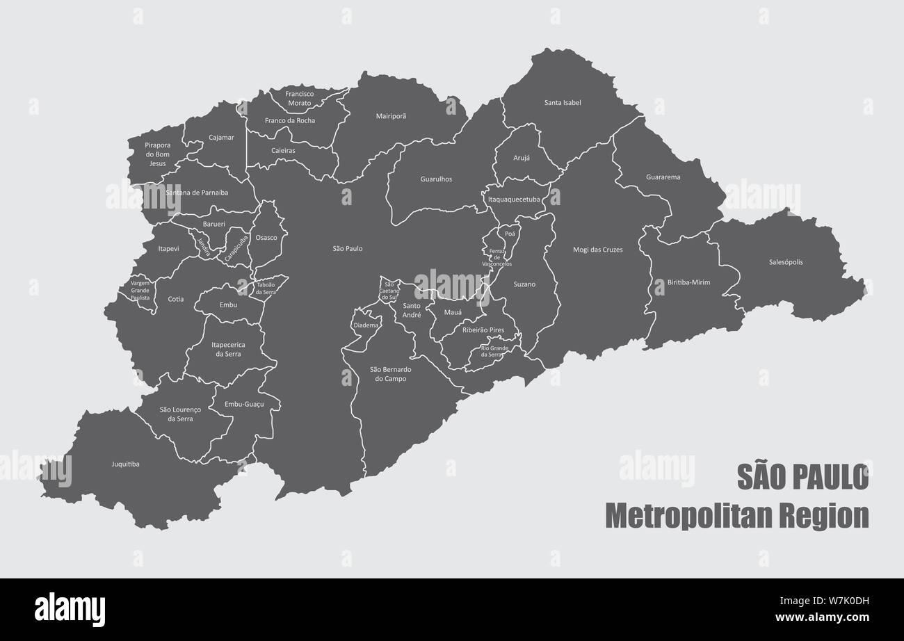 Sao Paulo Map Vector Stock Photos & Sao Paulo Map Vector ... on parque do ibirapuera, rio de janeiro map, buenos aires map, recife map, viracopos international airport, moscow map, rio de janeiro, johannesburg map, delhi map, cachoeira do sul, manila map, porto alegre, ibirapuera auditorium, brasilia map, beijing map, argentina map, brazil map, quito map, bogota on map, salvador map, tokyo map, lagos map, chapada diamantina national park, sao francisco river map, lima map, singapore map, caracas map,