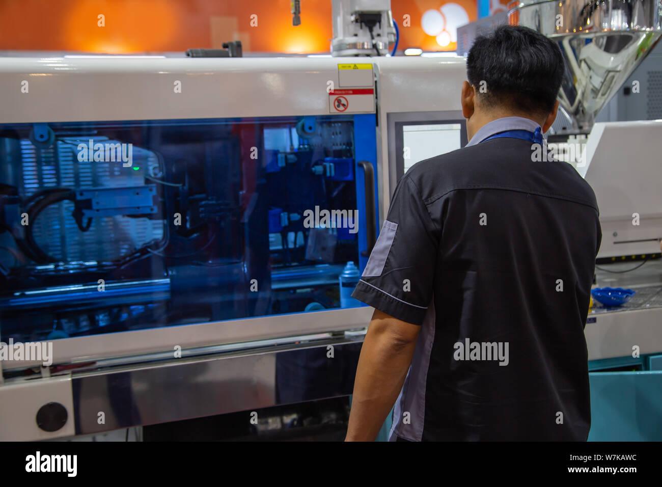 Injection Molding Machine Stock Photos & Injection Molding