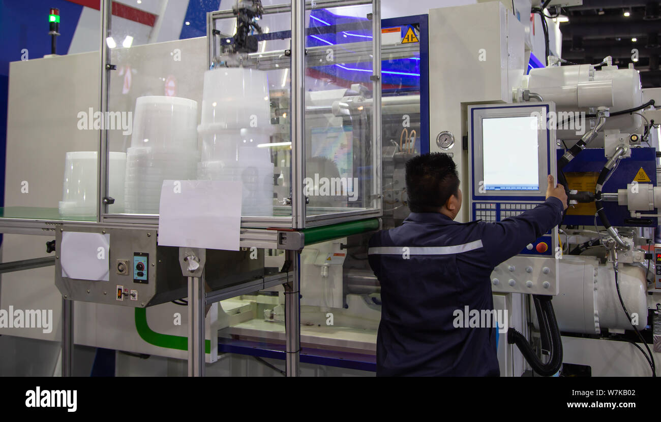 Injection Molding Stock Photos & Injection Molding Stock