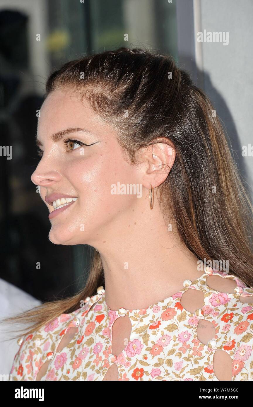 Los Angeles Ca 6th Aug 2019 Lana Del Rey At The Induction Ceremony For Star On The Hollywood Walk Of Fame For Guillermo Del Toro Hollywood Boulevard Los Angeles Ca August 6