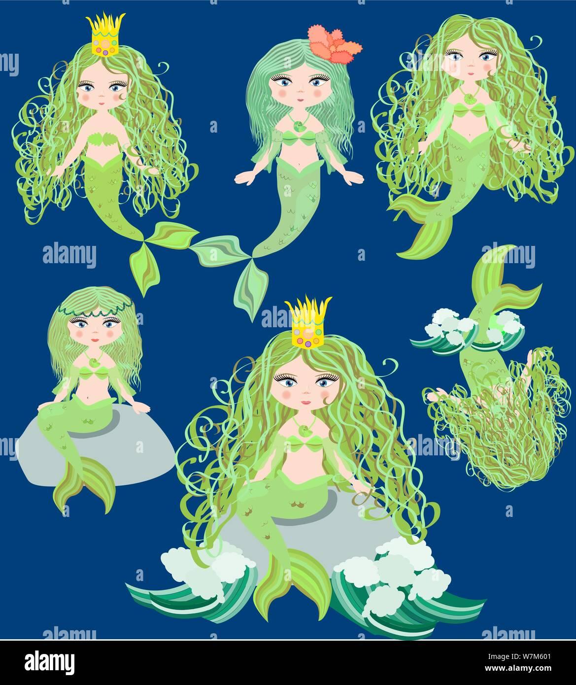 Sirens Mermaid high Heels | Pastel Dreams