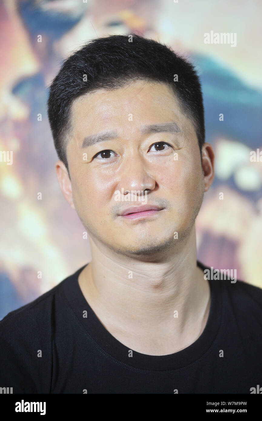 Chinese Actor And Director Wu Jing Attends An Interview For His Movie Wolf Warrior 2 In Beijing China 17 August 2017 Wolf Warrior Ii The Actio Stock Photo Alamy