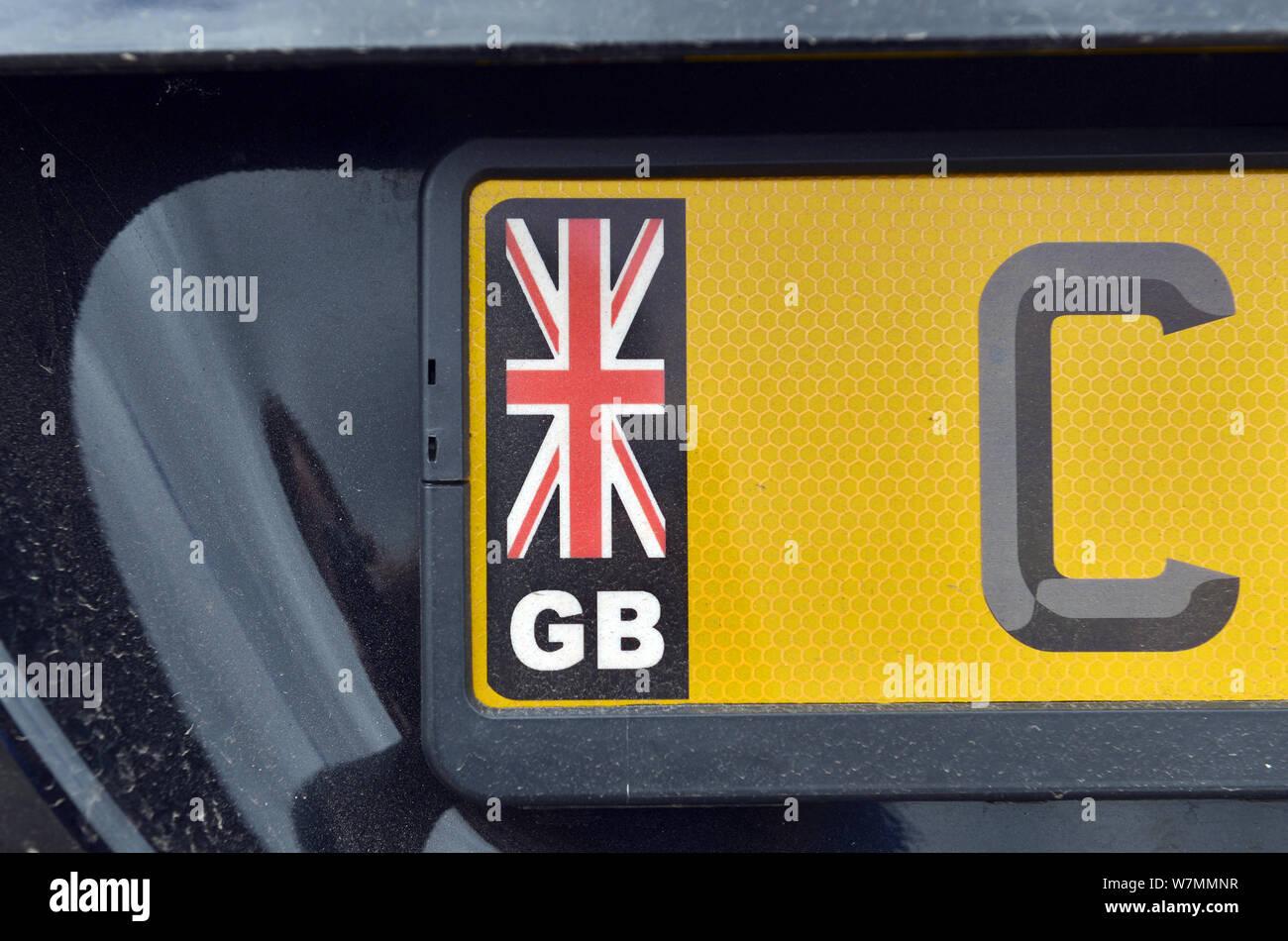 GREAT BRITAIN GB mini cooper custom euro plate jaguar bently cherish