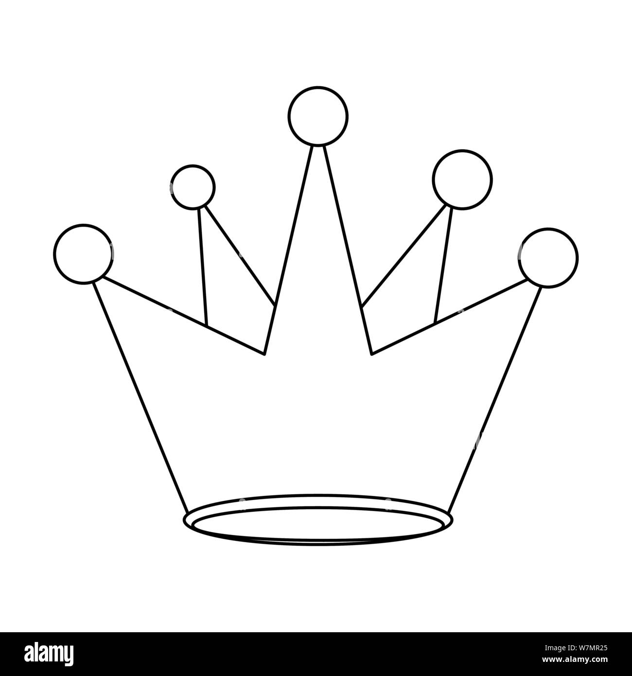 King Crown Royal Luxury Cartoon In Black And White Stock Vector Image Art Alamy Cartoon, crown, fantasy, king, medieval, prince, royal icon. https www alamy com king crown royal luxury cartoon in black and white image262915245 html