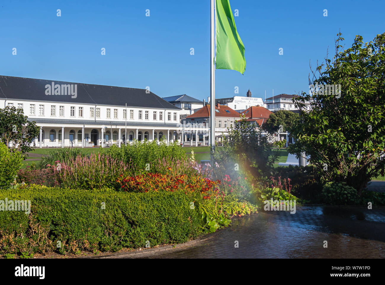 norderney central square, travel germany Stock Photo