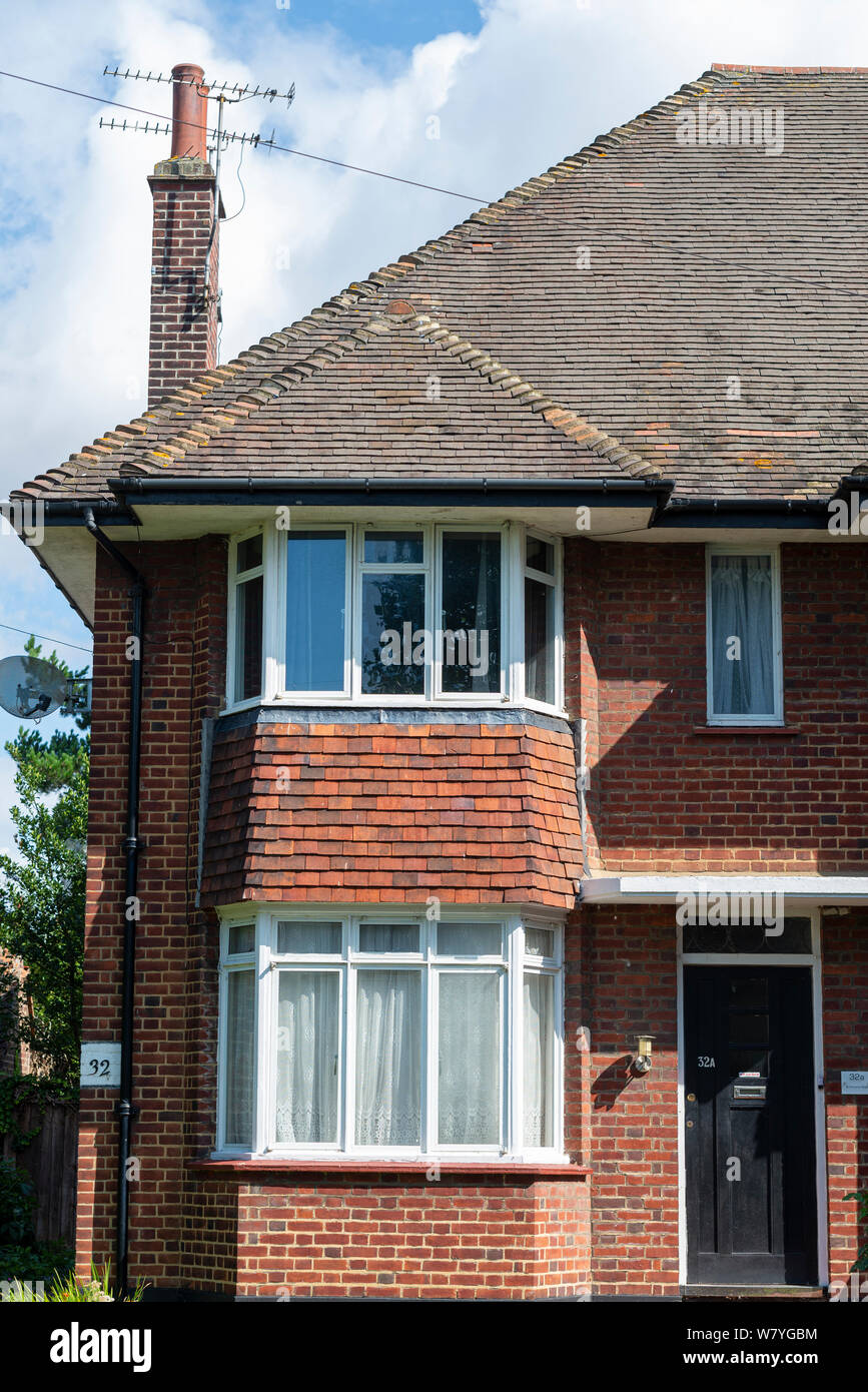 32 St Vincent's Road, Southend on Sea, Essex, UK. Home of Raie Jacobs and Samuel Gershon, great grandparents to Harry Potter actor Daniel Radcliffe Stock Photo