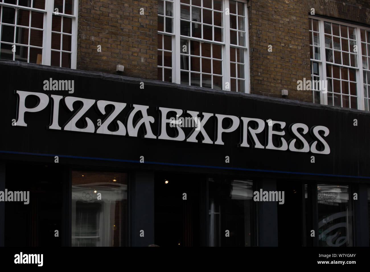 Pizza Express London Stock Photos Pizza Express London