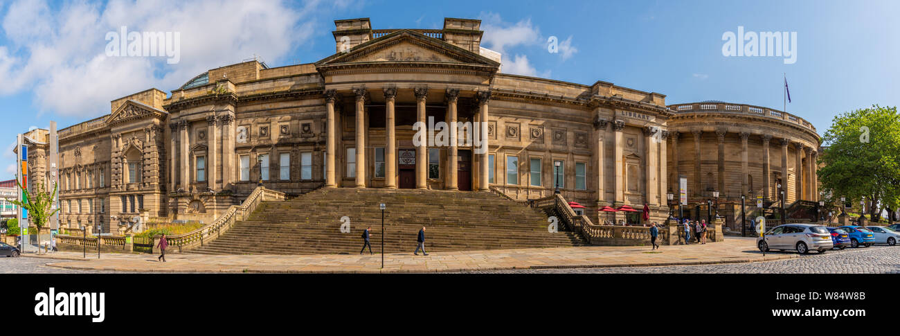World Museum, Central Library, Walker Art Gallery in William Brown Street, Liverpool Stock Photo