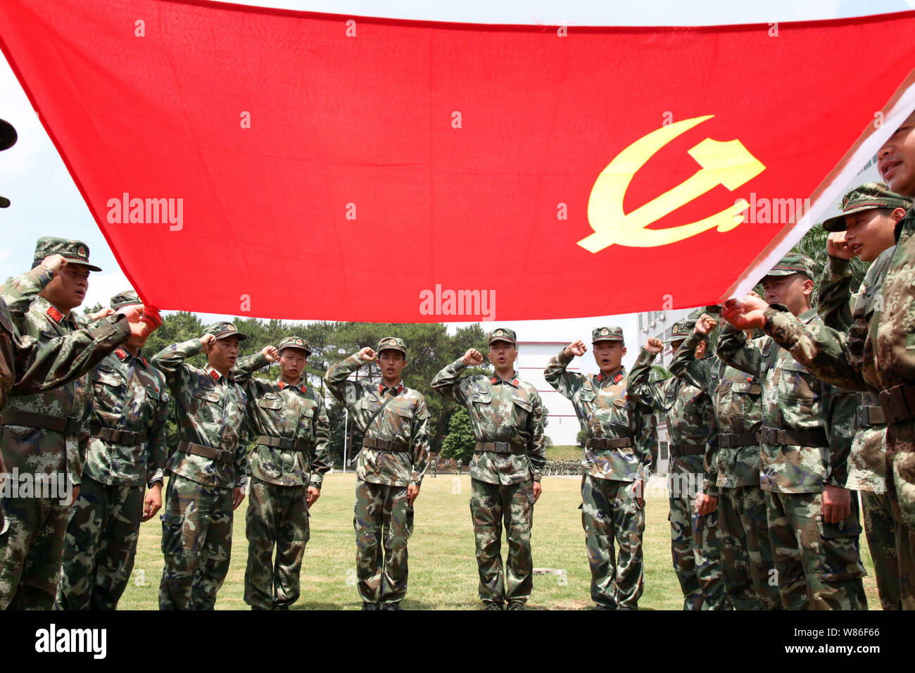 The 95th anniversary of the founding of the communist party of China.
