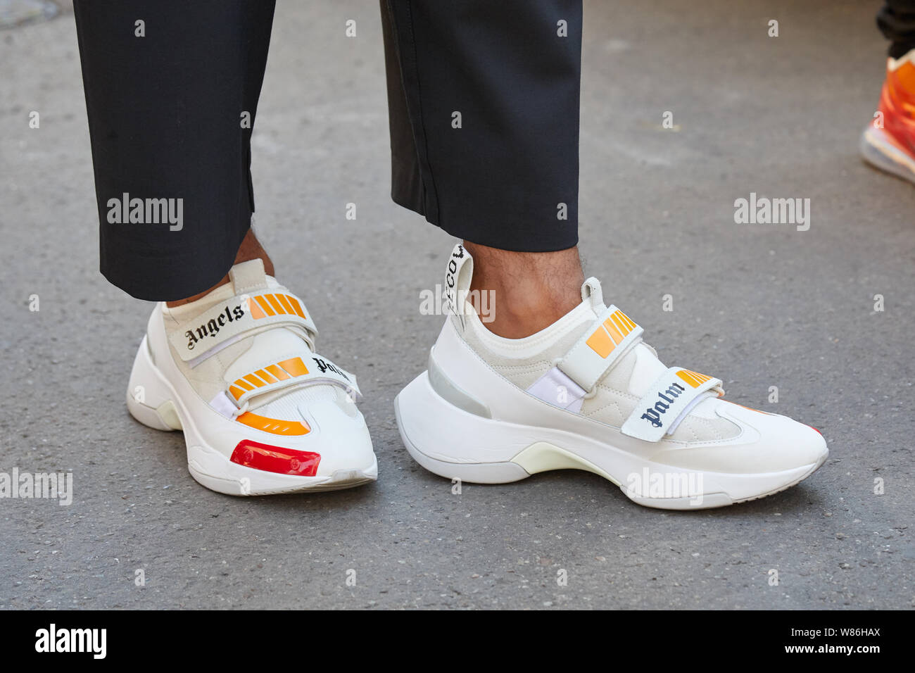 MILAN, ITALY - JUNE 16, 2019: Man with
