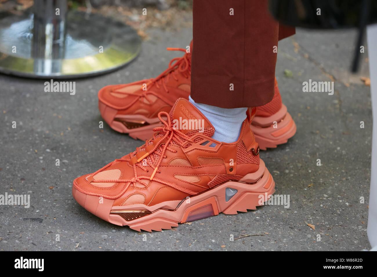 calvin klein orange sneakers Shop