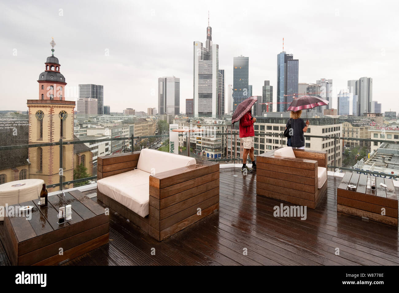 Frankfurt Rain High Resolution Stock Photography And Images Alamy