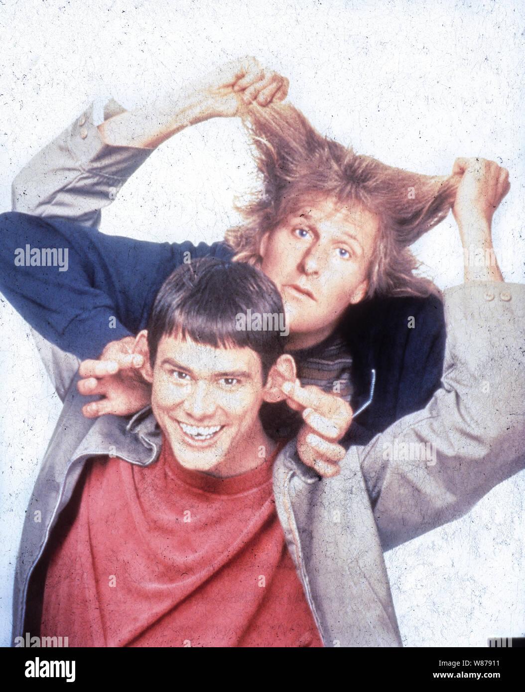 Jim Carrey Jeff Daniels Dumb And Dumber 1994 Stock Photo Alamy