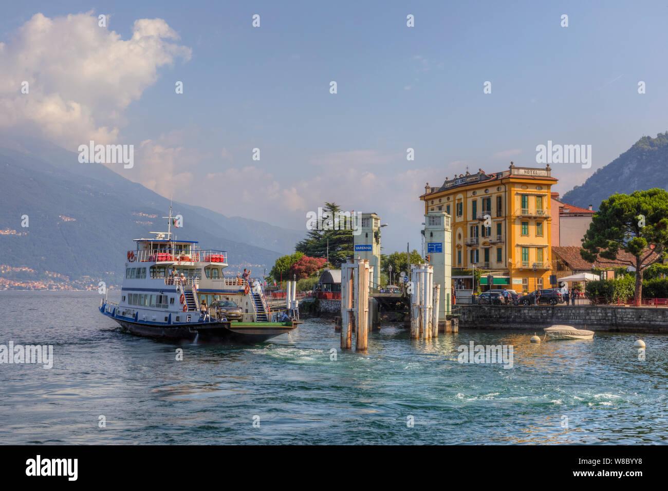 Varenna, Lake Como, Lombardy, Italy, Europe Stock Photo