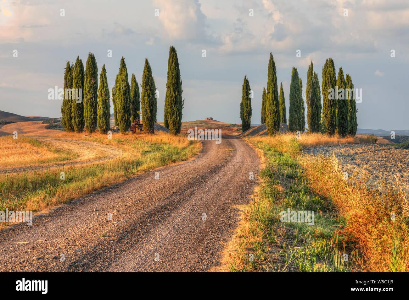 San Quirico, Tuscany, Italy, Europe Stock Photo