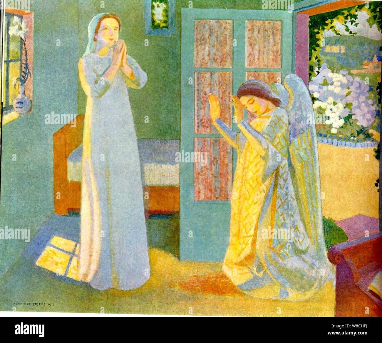 Maurice Denis Homage To Cezanne