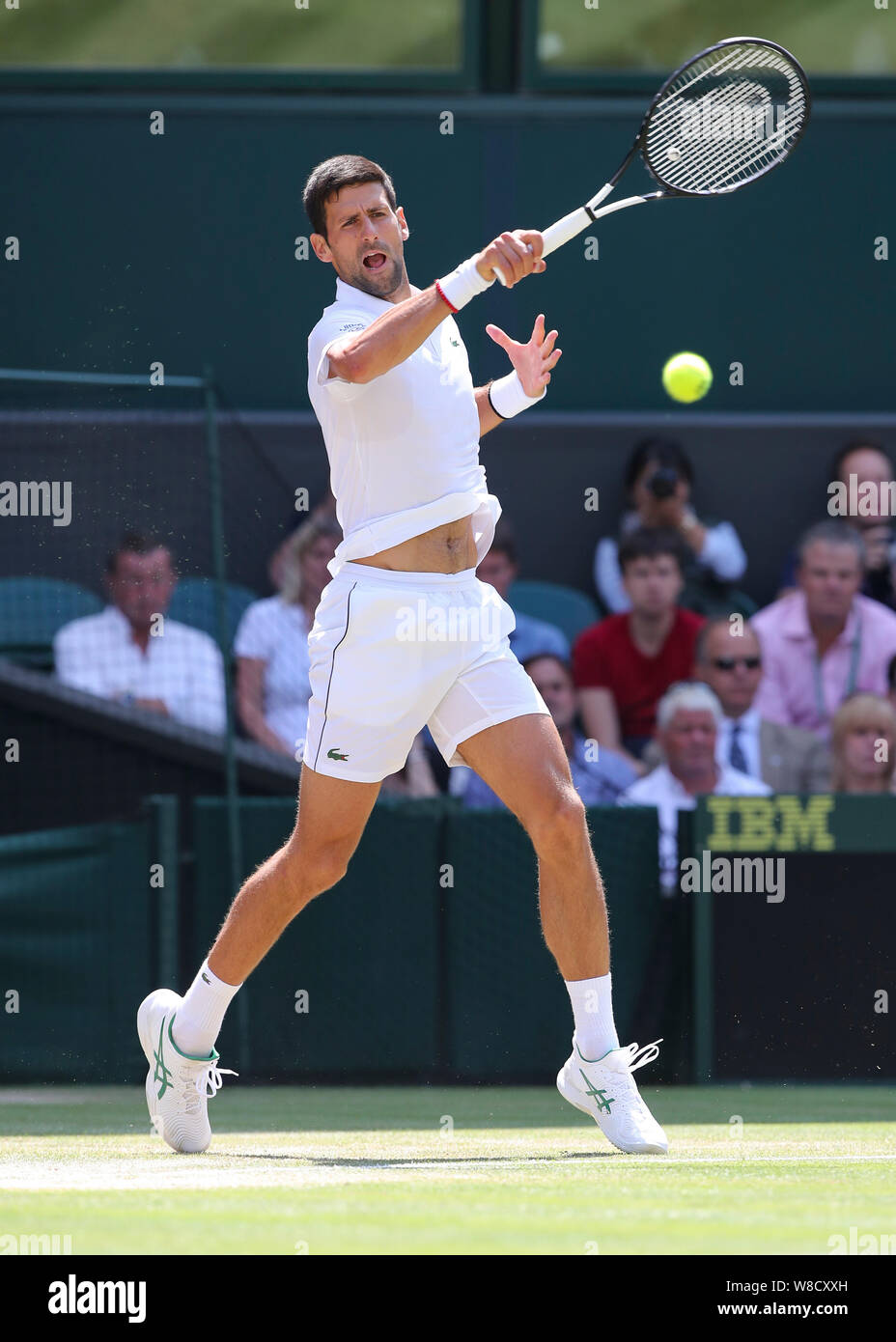 Novak Djokovic Forehand High Resolution Stock Photography And Images Alamy