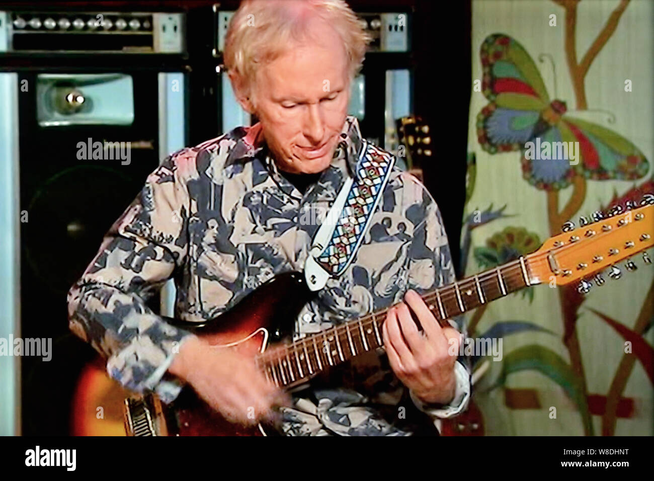 Robby Krieger  guitarist and singer-of the rock band The Doors Stock Photo