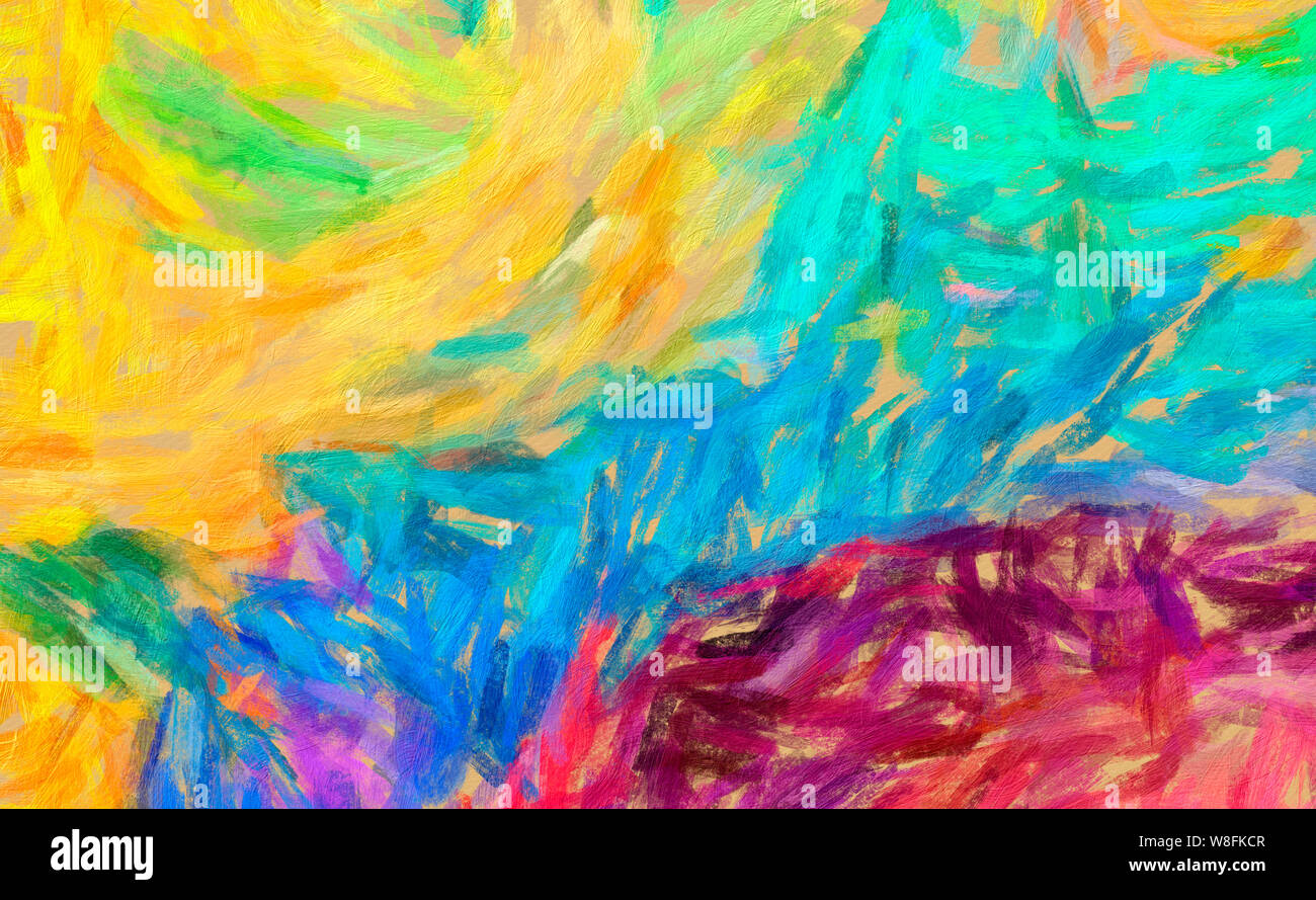 Oil Paint Abstract Art For Sale Acrylic Pour Painting