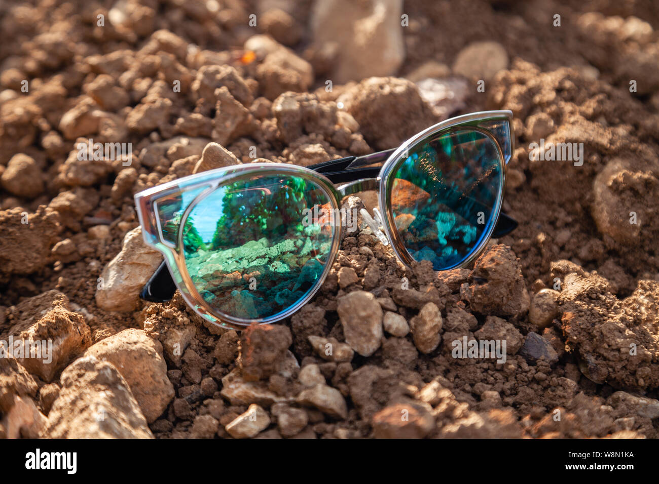 united kingdom good out x online store Closeup beautiful blue green mirrored sunglasses ultraviolet ...