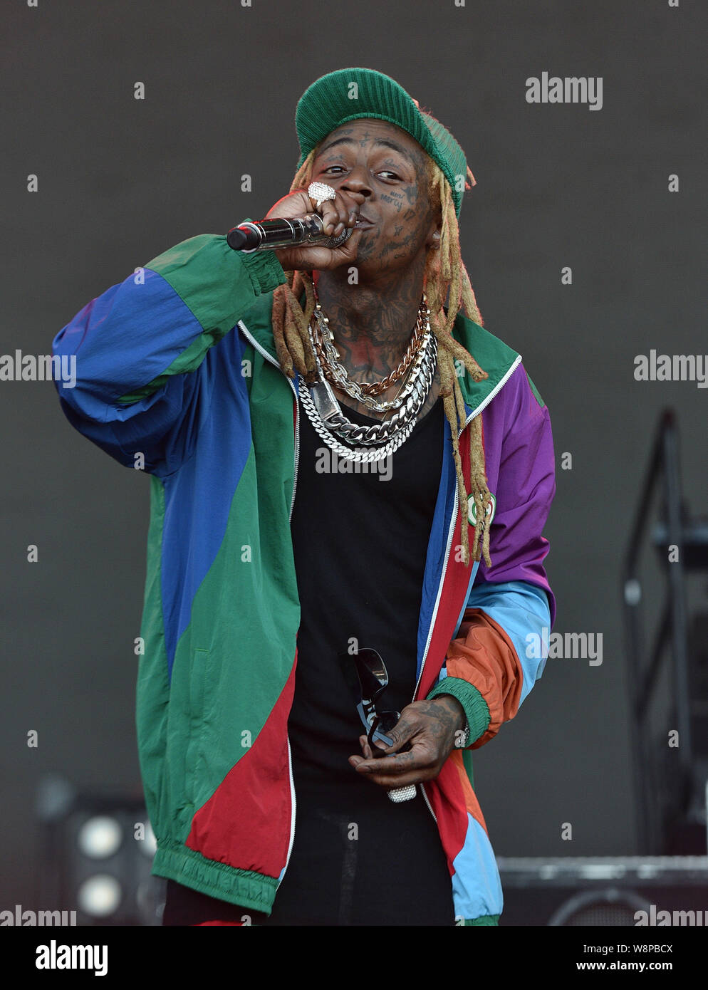 SanFrancisco, USA  09th August, 2019  Lil Wayne performs