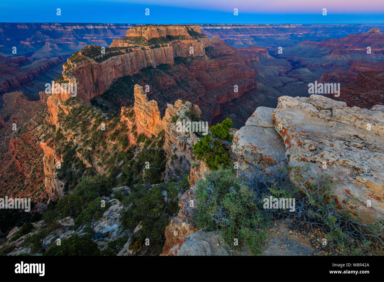 Sunrise At Cape Royal On The North Rim Of The Grand Canyon