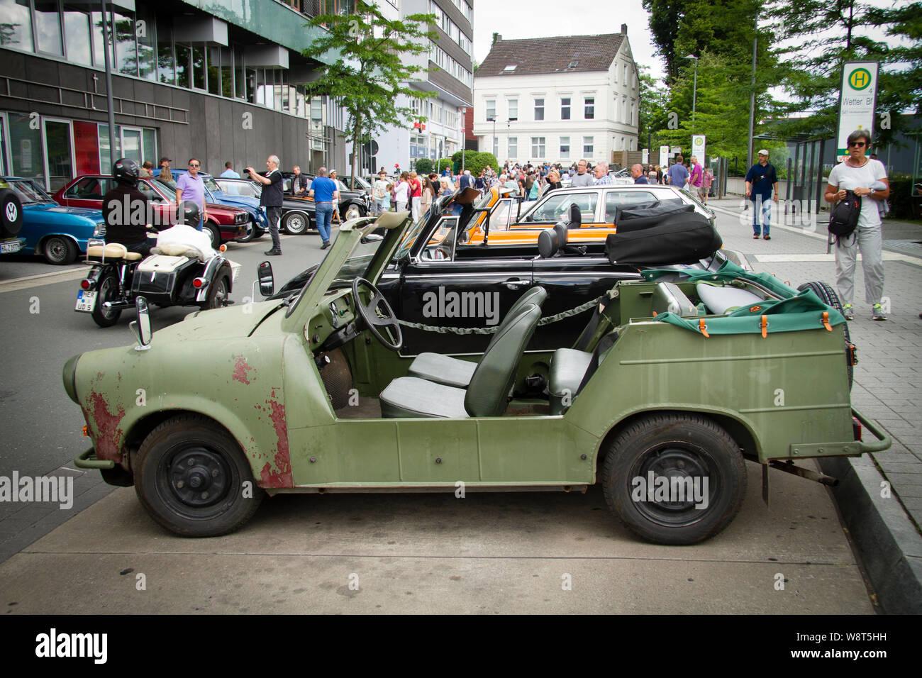 Trabant 601 Kuebel, Germany.  Trabant 601 Kuebel, Deutschland. Stock Photo