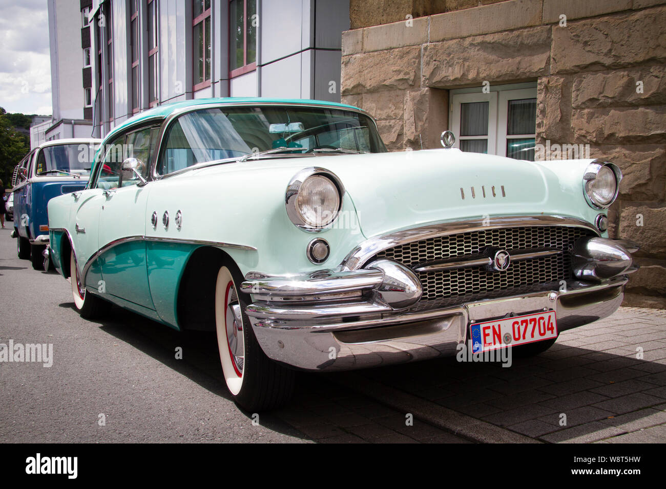 1955 Buick Special, Germany.  1955er Buick Special, Deutschland. Stock Photo