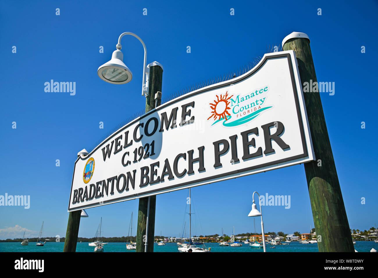 Bradenton Beach Stock Photos & Bradenton Beach Stock Images
