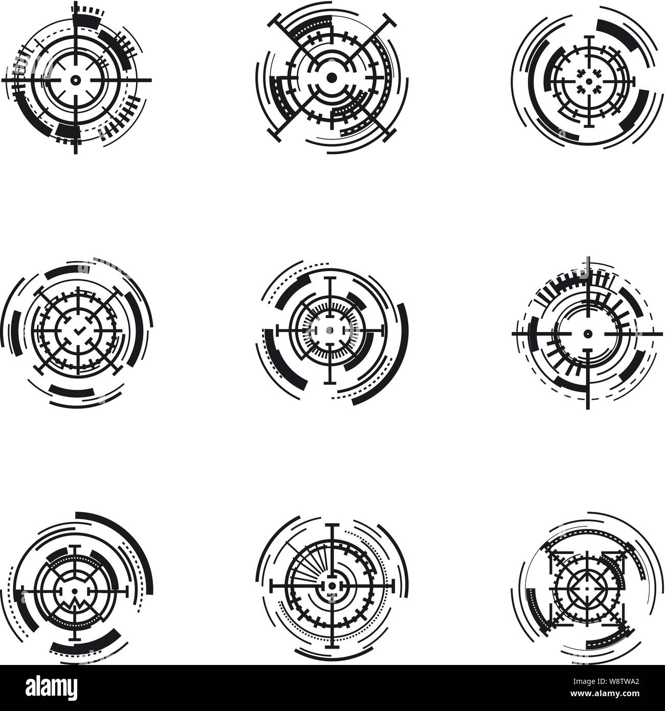 modern target aim icon set simple set of 9 modern target aim vector icons for web design isolated on white background stock vector image art alamy https www alamy com modern target aim icon set simple set of 9 modern target aim vector icons for web design isolated on white background image263619498 html