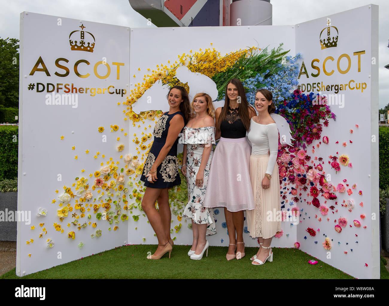 Ascot Races Fashion Stock Photos Ascot Races Fashion Stock