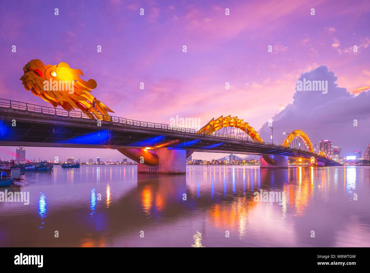 golden dragon bridge vietnam